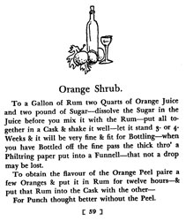 Orange Shrub Punch